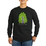 Evolution Long Sleeve Dark T-Shirt
