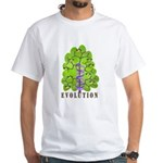 Evolution White T-Shirt