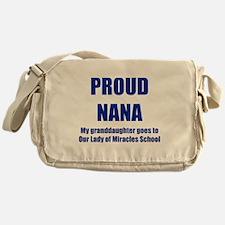 Nana 1 Granddaughter Messenger Bag