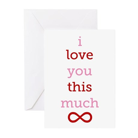 Infinitive Love Greeting Cards (Pk of 10)