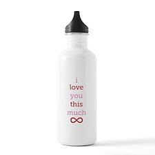 Infinitive Love Water Bottle