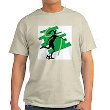 Soccer Girl Ash Grey T-Shirt
