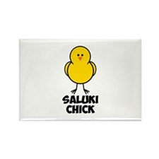 Saluki Chick Rectangle Magnet (100 pack)