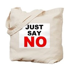 No to Drugs Tote Bag