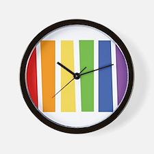 LGBT Colors Wall Clock