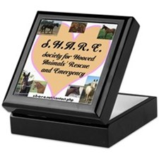 Cool Society for hooved animal rescue and emergency Keepsake Box
