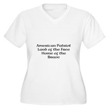 American Patriot Land of the T-Shirt