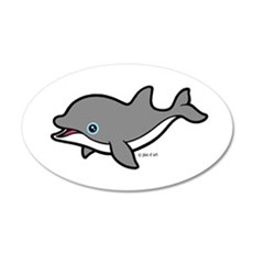 Dolphin (2) Wall Decal