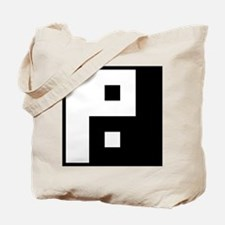 Square Yin Yang Tote Bag