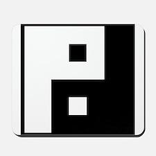 Square Yin Yang Mousepad