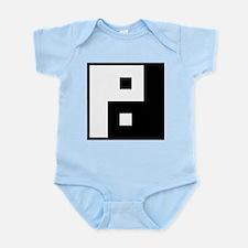 Square Yin Yang Infant Bodysuit