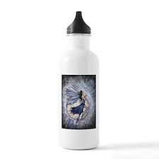 Midnight Blue Fairy Fa Water Bottle
