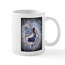 Midnight Blue Fairy Fantasy Art Small Mug