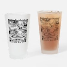 Cute Abolition Drinking Glass