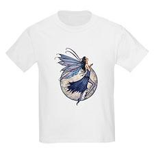 Midnight Blue Fairy Fantasy Art T-Shirt