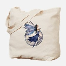 Midnight Blue Fairy Fantasy Art Tote Bag