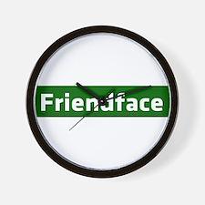 IT Crowd - Friendface Wall Clock
