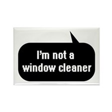 IT Crowd - I'm not a window cleaner Rectangle Magn