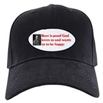 Ben Franklin: Beer Quote Black Cap