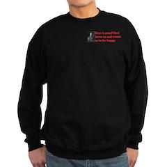 Ben Franklin: Beer Quote Sweatshirt