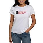 Ben Franklin: Beer Quote Women's T-Shirt