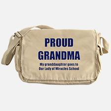 Grandma 1 Granddaughter Messenger Bag
