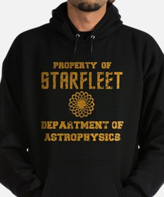 Star Trek Dept of Astrophysics Hoodie (dark)