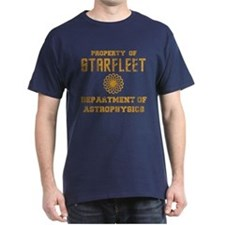 Star Trek Dept of Astrophysics T-Shirt