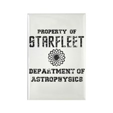 Star Trek Dept of Astrophysics Rectangle Magnet