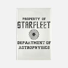 Star Trek Dept of Astrophysics Rectangle Magnet