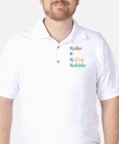 Mother of Multiple Multiples Golf Shirt