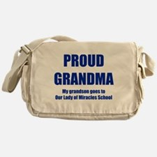 Grandma 1 Grandson Messenger Bag
