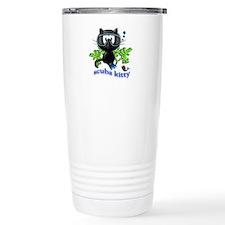 scuba kitty Travel Coffee Mug