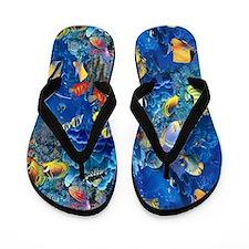 Sea Fish Flip Flops