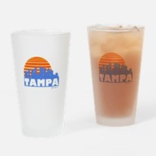 Tampa Pride Drinking Glass