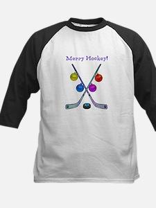Cute Hockey christmas Tee