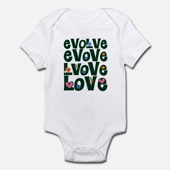 Evolve Whimsical Love Infant Bodysuit