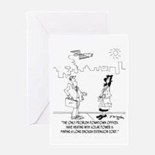 Entropy Institute Bankruptcy Greeting Card