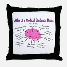 Atlas Of... Throw Pillow