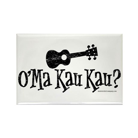 O'Ma Kau Kau Rectangle Magnet