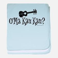 O'Ma Kau Kau baby blanket