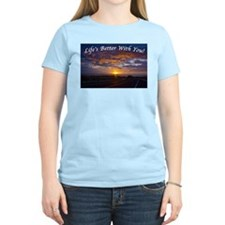 Cute Sunset clouds T-Shirt