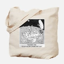 Lunar Rover 's Battery Is Dead Tote Bag