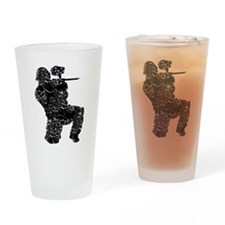 Paintball Apparel, Vintage Drinking Glass