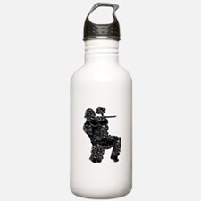 Paintball Apparel, Vintage Water Bottle