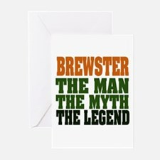 BREWSTER - The Legend Greeting Cards (Pk of 20)