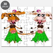 Luna and Sola - Hula Moo! Puzzle