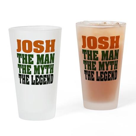 JOSH - The Legend Drinking Glass