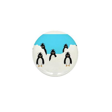 Penguins Design Mini Button (100 pack)