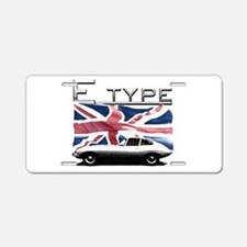 Cute Jagger Aluminum License Plate